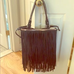 Steve Madden B Fringie Handbag New With Tags!!!